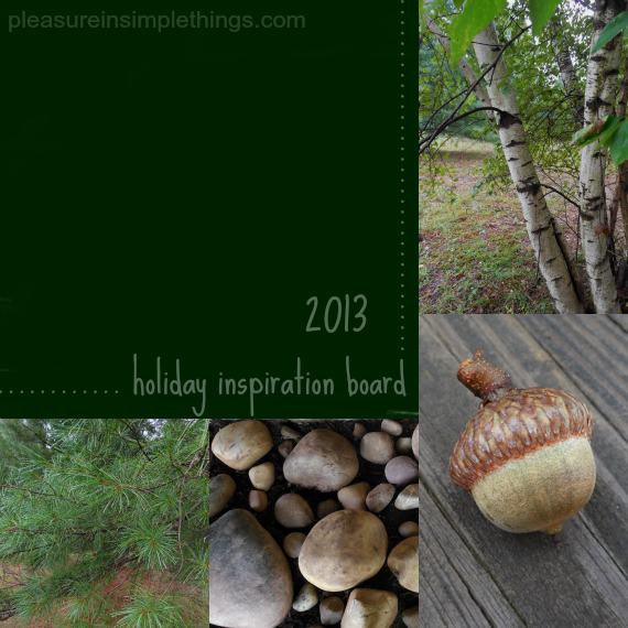 2013 holiday inspiration board