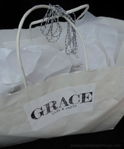 package wrapping at Grace in Niantic