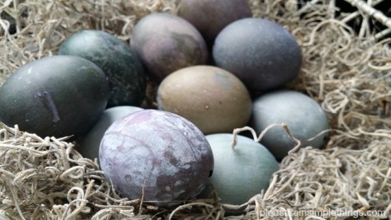 gray easter eggs pleasure in simple things 1