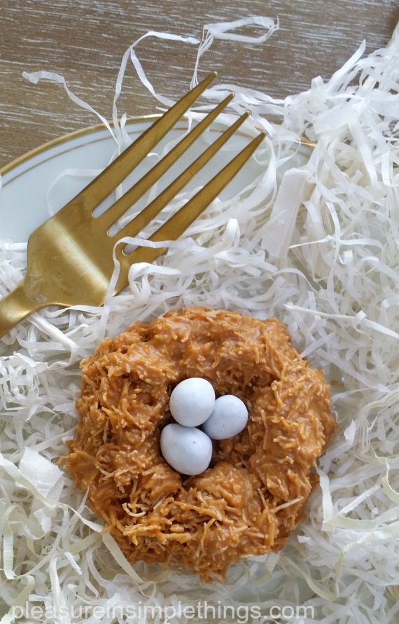 nests for Easter pleasure in simple things blog